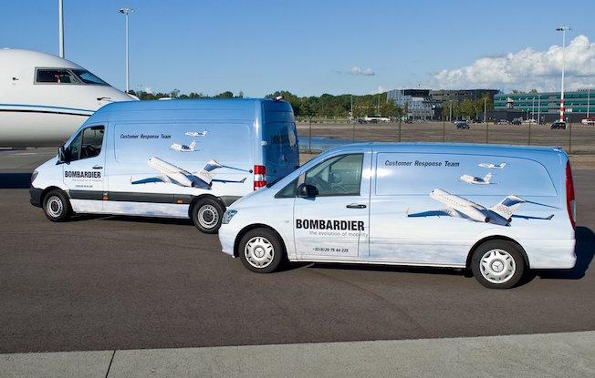 bombardier mantenimiento - Bombardier открывает в Европе 5 центров для обслуживания бизнес-джетов