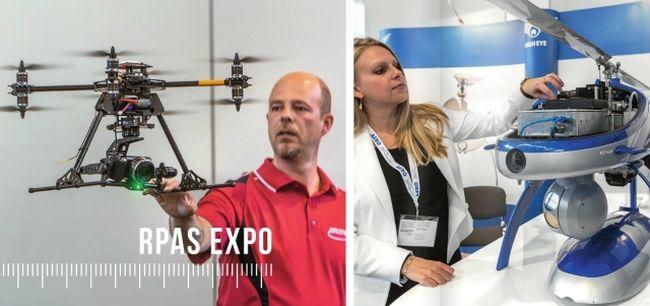 dron - AERO Friedrichshafen уже через неделю начинает свою работу