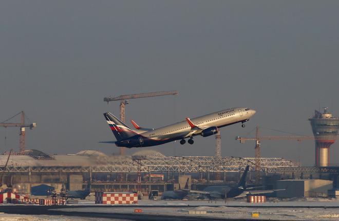 aeroflot boeing 737 takeoff 01 - «Аэрофлот» получил 24-е воздушное судно «Boeing 737-800»