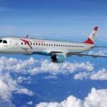 Ausrian Airlines начала эксплуатацию тринадцатого Embraer 195