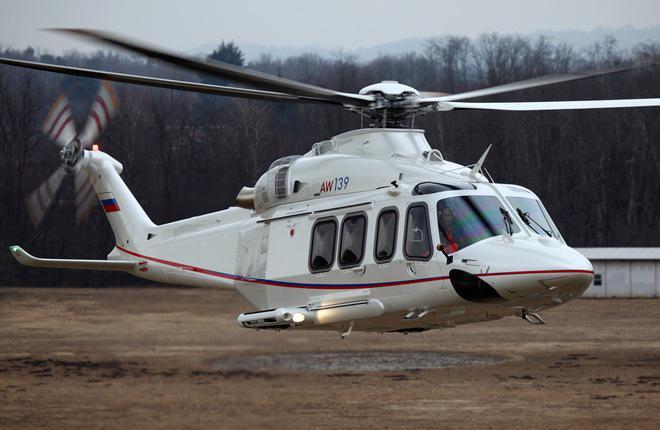 Двухмоторный вертолет «AW-139» станет на 1 тонну легче