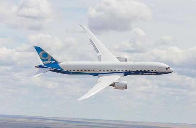 boeing 787 9 01 - Самолет «Boeing 787» получит напечатанные титановые элементы