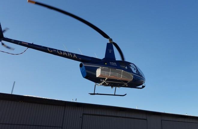 Корзина для вертолета «R-66» прошла сертификацию в Канаде