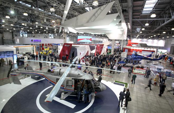 Юбилейная 10-я выставка «HeliRussia»