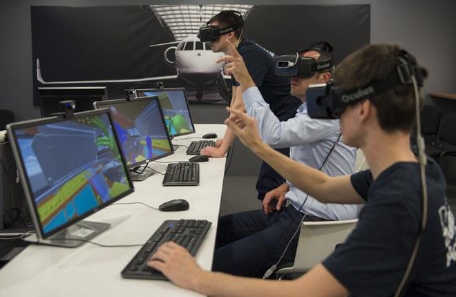 Технологии виртуальной реальности помогут в ремонте бизнес-джетов Falcon