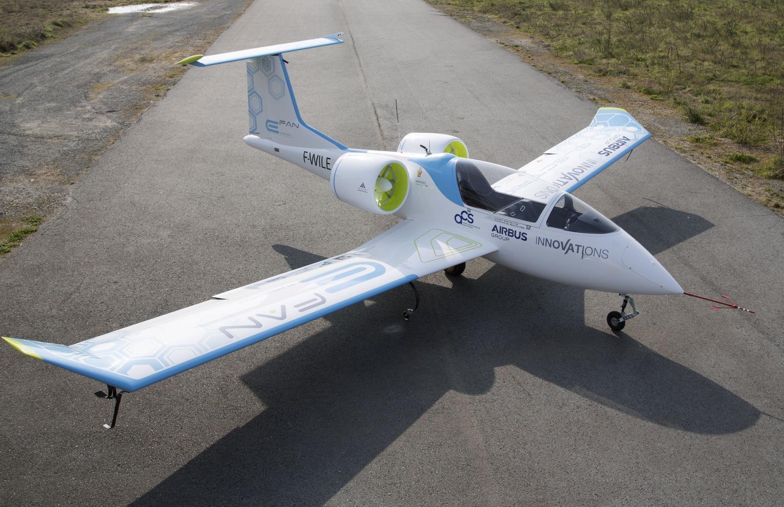 Airbus решил не заниматься разработкой самолета с электрической силовой установкой