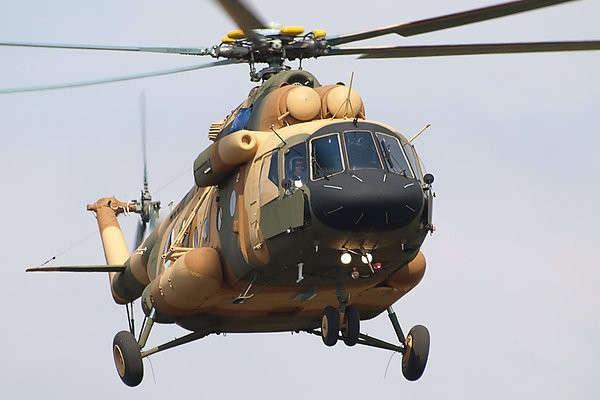 mi 17 - В Кению поставлен первый российский многоцелевой вертолет Ми-17В-5