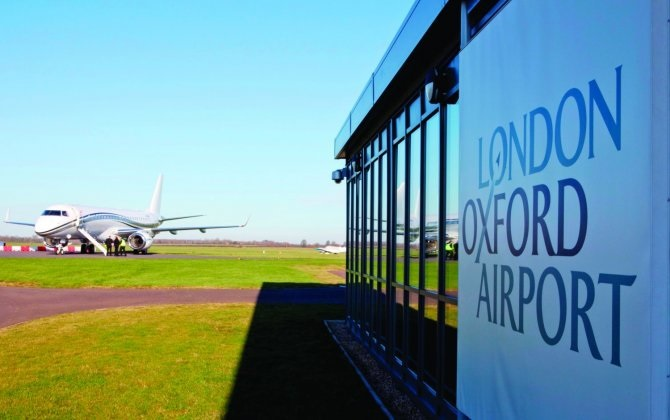 В London Oxford Airport разместилась база бизнес-оператора Travion
