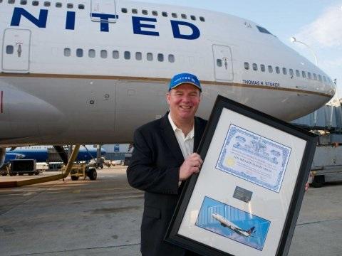 Назван самый часто летающий в мире пассажир