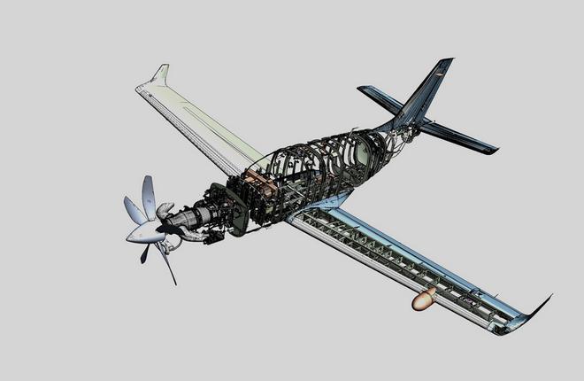 tbm 910 airframe 01 - Новый самолет «TBM-910» от «Daher»