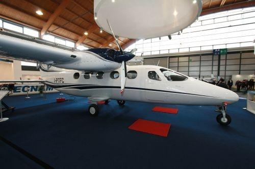 tecnam6557 - На Aero-2017 представлен самый большой самолет компании Tecnam