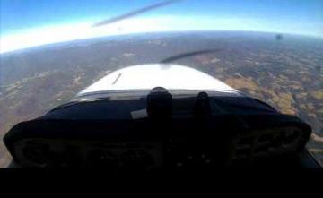 Первый самостоятельный полет пилота-любителя