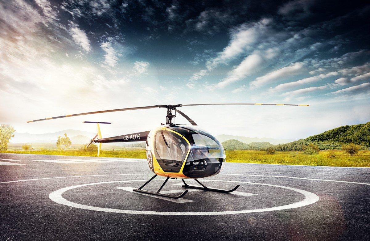 Полеты на вертолете: как, куда и сколько