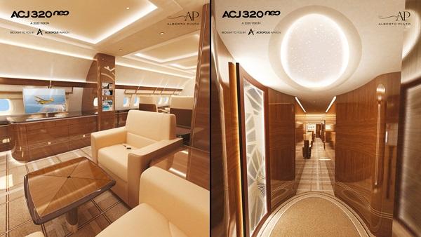 AMAC Aerospace - AMAC Aerospace займется кастомизацией первого ACJ320neo