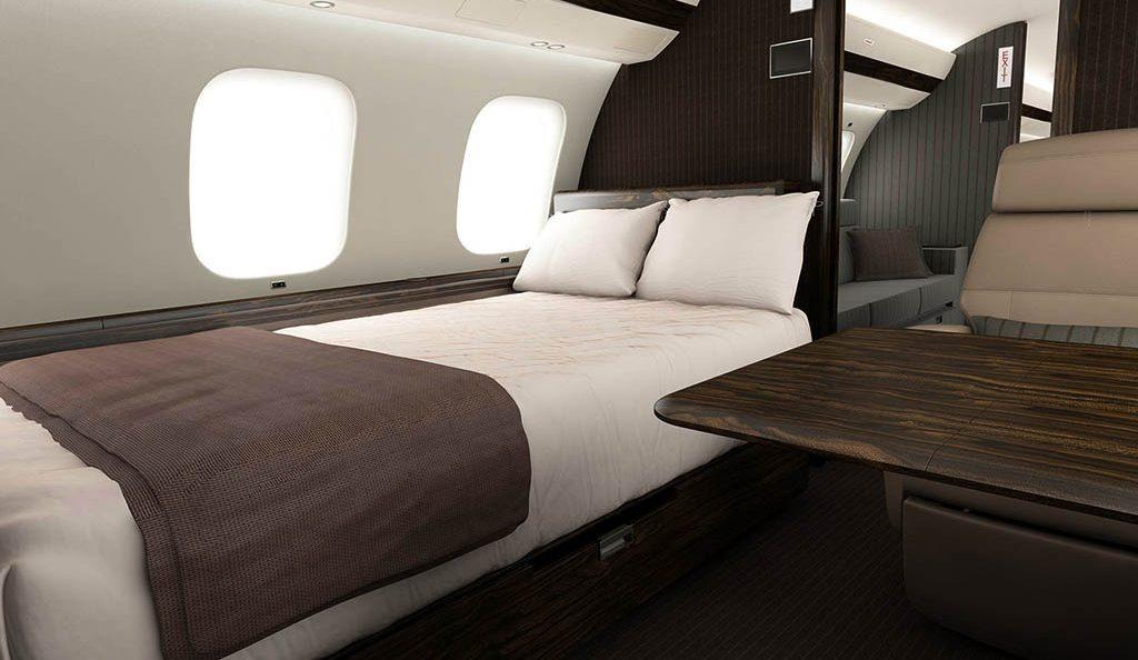Ники Лауда определился с дизайном интерьера своего Global 7000