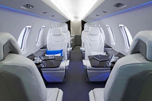 Pilatus PC 24 - Pilatus PC-24 продемонстрируют с пассажирским салоном
