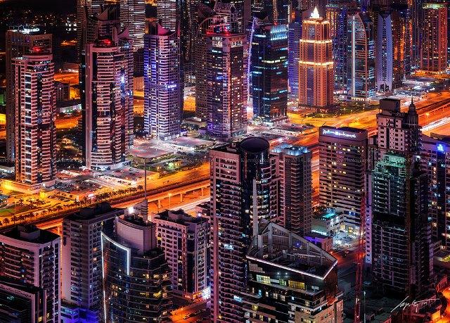 Skyscrapers at Marina Dubai - Солнце, песок и ... самолеты