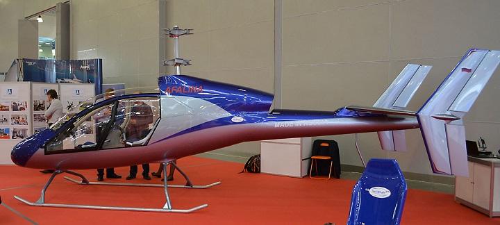 afalina - На HeliRussia 2017 покажут новый легкий скоростной вертолет «Афалина»