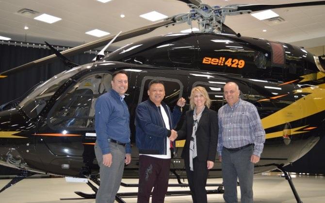 bell429 - В Китай поставлен еще один Bell 429