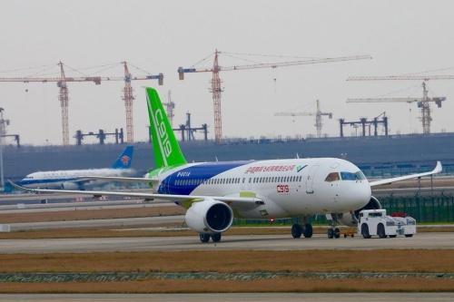 В Китае начались летные испытания лайнера С919