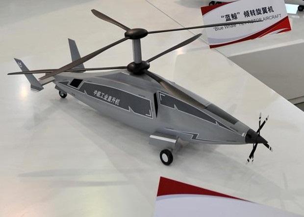 china heli - В Китае разработают скоростной вертолет