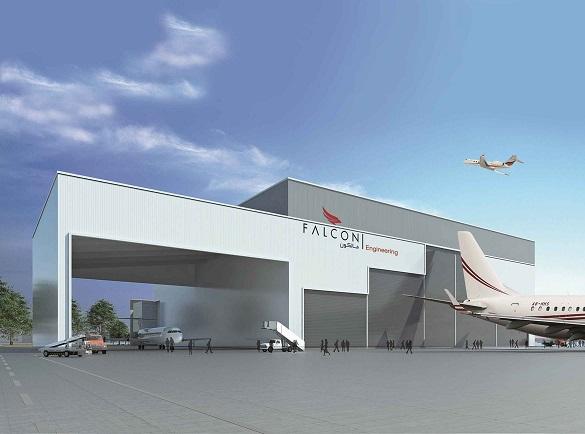 Falcon Aviation планирует заняться ТОиР
