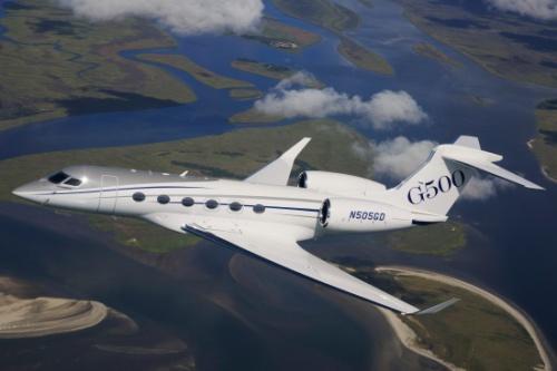 g500 p1 aerial 3 - Первый опытный Gulfstream G500 совершил полет в память о Лиденберге
