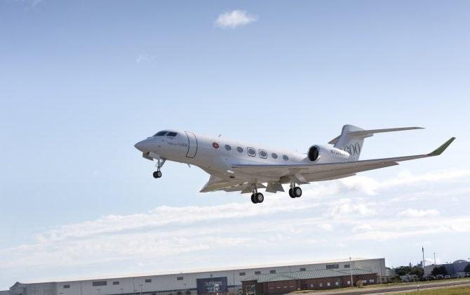 К программе летных испытаний присоединился третий Gulfstream G600
