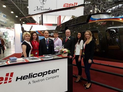 В HeliRussia 2017 примет участие Jet Transfer