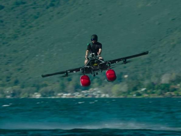 В США прошли испытания пассажирского мультикоптера