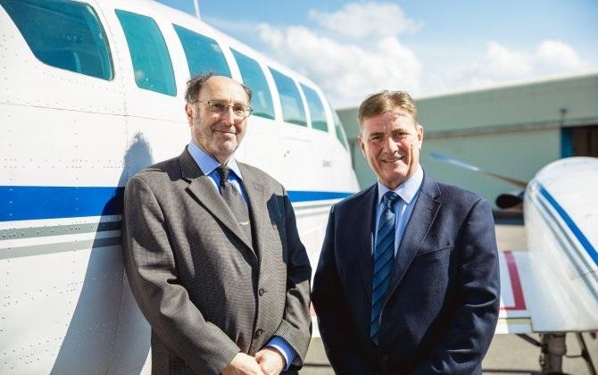 isla normana - Isle-Fly запускает воздушное такси на Нормандских островах