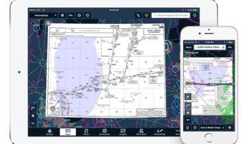 Навигационные карты Jeppesen теперь доступны из приложения  ForeFlight