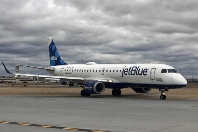 В США топливный бак пассажирского лайнера пробила птица