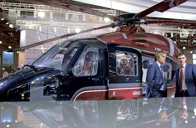 Вертолет Ка-62 готовят к первому полету