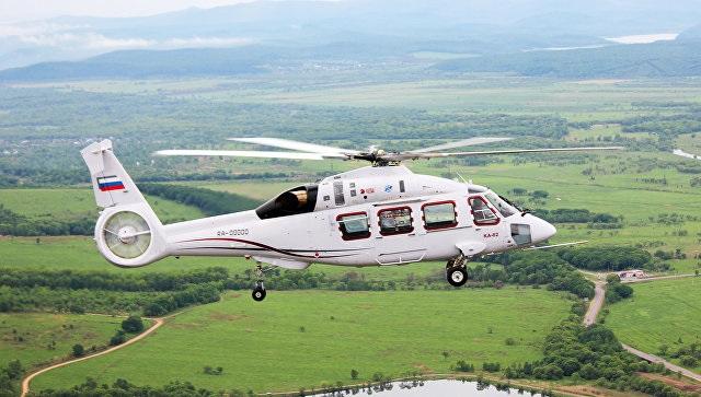 ka 621 - Вертолет Ка-62 совершил первый испытательный полет