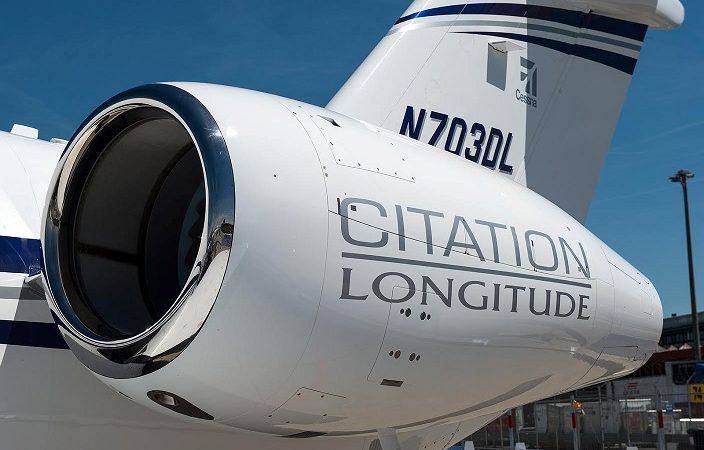 Первый Citation Longitude заказан европейским клиентом