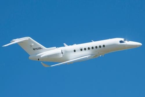 longitude 1 - Четвертый опытный Cessna Citation Longitude поднялся в воздух