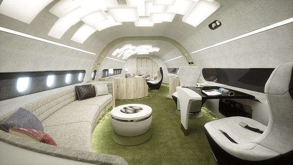 melody - Airbus Corporate Jets представил концепцию салона Melody