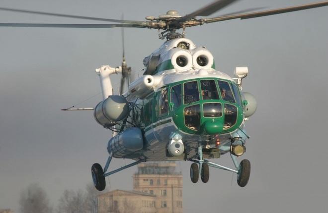 mi 8 vip - VIP-версию вертолета Ми-172 оборудовали системой спутниковой связи