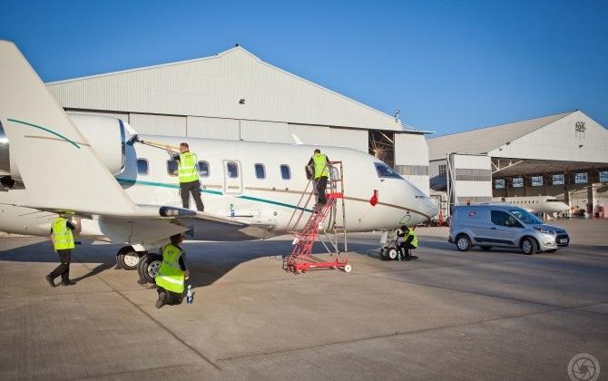 TAG Aviation Farnborough Maintenance Services предлагает услуги по клинингу воздушных судов