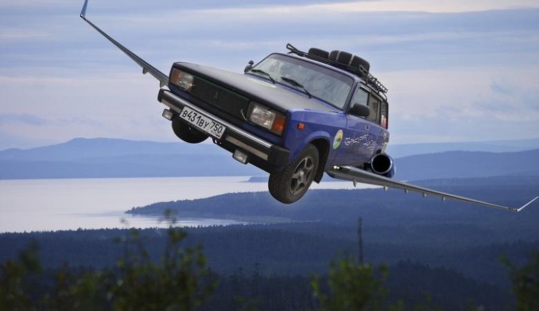 vaz - В России будет создан летающий автомобиль