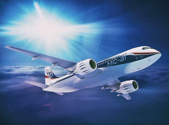 2 - В России успешно прошел испытания новый пассажирский лайнер