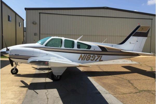 Beechcraft B55 Baron купить бу
