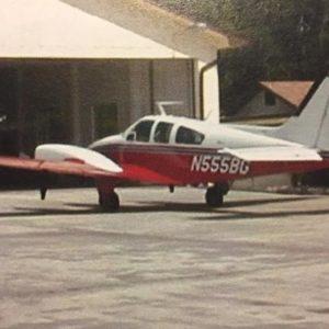 Beechcraft 55 Baron купить бу