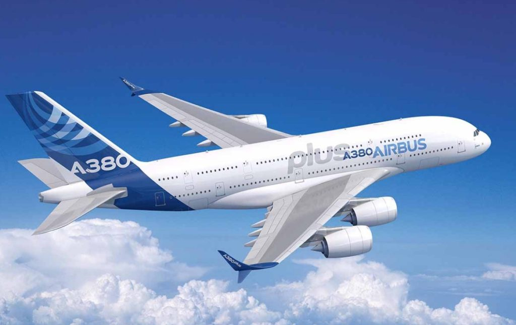 A380plus 1024x645 - Airbus представил экономичную версию A380 - A380plus