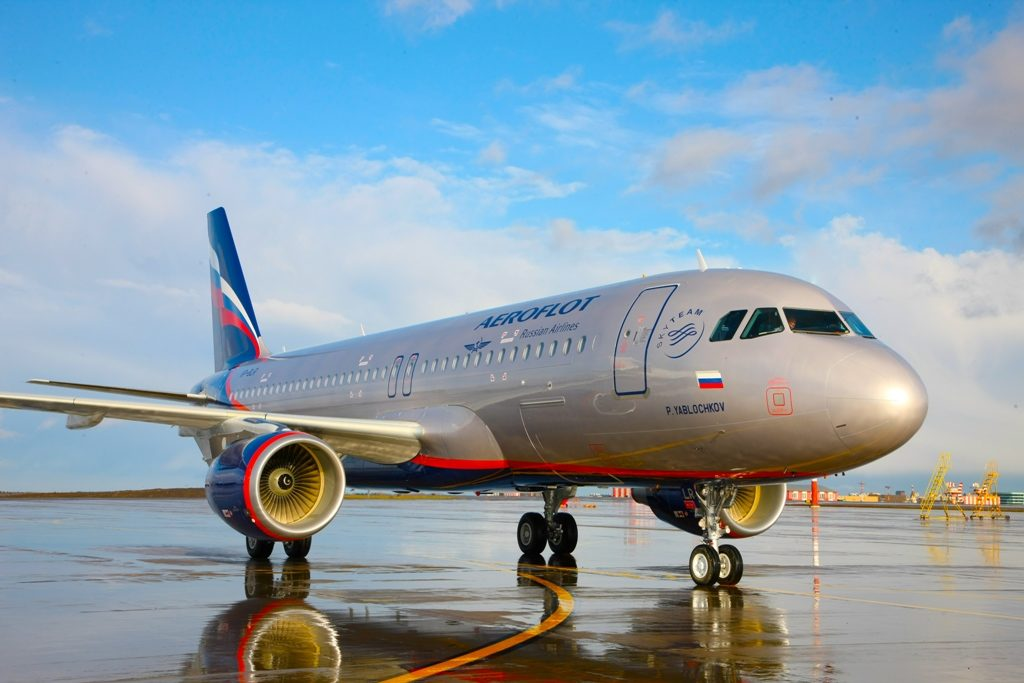 "Ae`roflota 1024x683 - ""Аэрофлот"" до конца года согласует покупку 28 лайнеров А350-900"