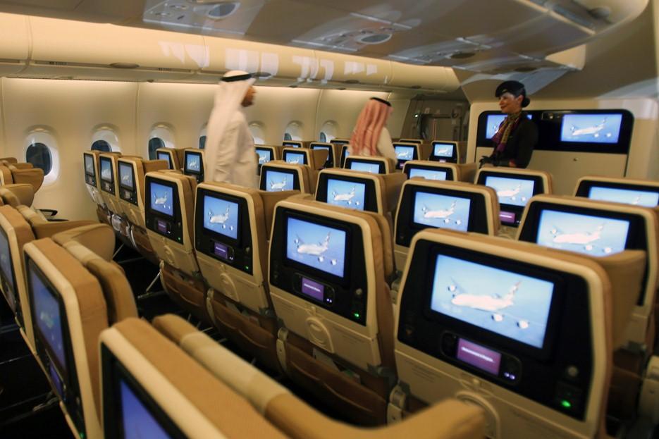 Etihad Airways - Etihad Airways предлагает пассажирам платить за свободные места в лайнере