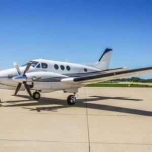 Beechcraft King Air C90 купить бу