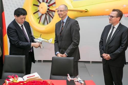 beijing - Airbus запускает производство вертолетов в Китае
