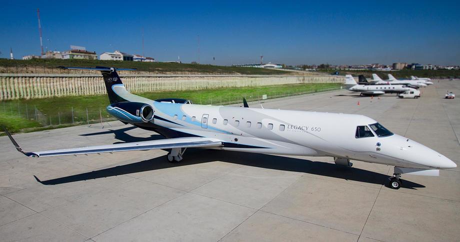 Embraer Legacy 650 купить бу